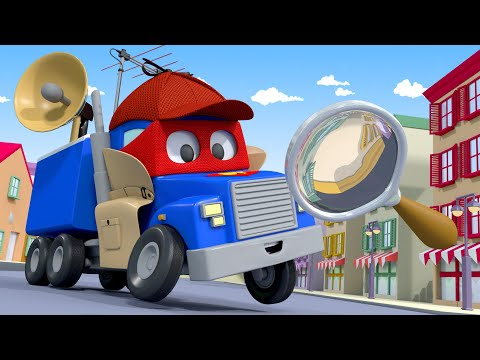 The DETECTIVE Truck Must- Find Lily The BUS! - Carl The Super Truck In Car City | Children Cartoons