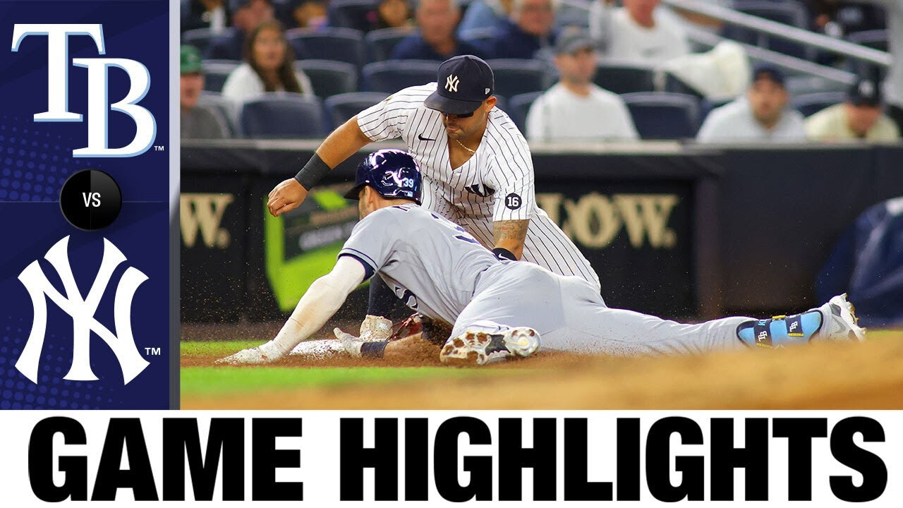 Download Rays vs. Yankees Game Highlights (10/1/21)   MLB Highlights