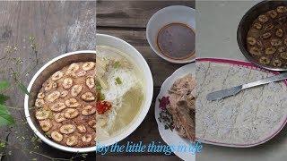 học cách làm kem chuối mát lạnh cho những ngày hè nắng nóng