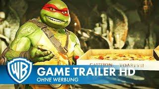 INJUSTICE 2 Teenage Mutants Ninja Turtles - Gameplay Trailer Deutsch HD German (2018)