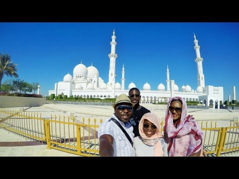 UAE VLOG: VISITING THE GRAND MOSQUE IN ABU DHABI