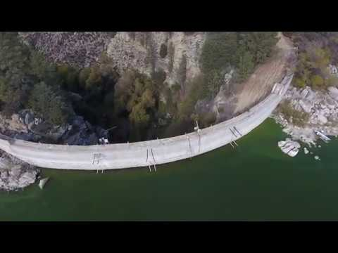 Flight over Lake Hemet, CA