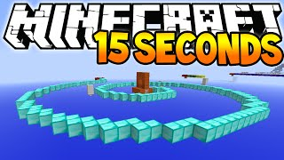 "Minecraft ""15 Seconds of Parkour"" (Really Fast Speed Parkour)"