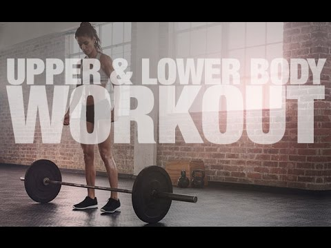 Barbell Workout For Women UPPER LOWER BODY