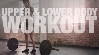 Barbell Workout for Women (UPPER & LOWER BODY!!)