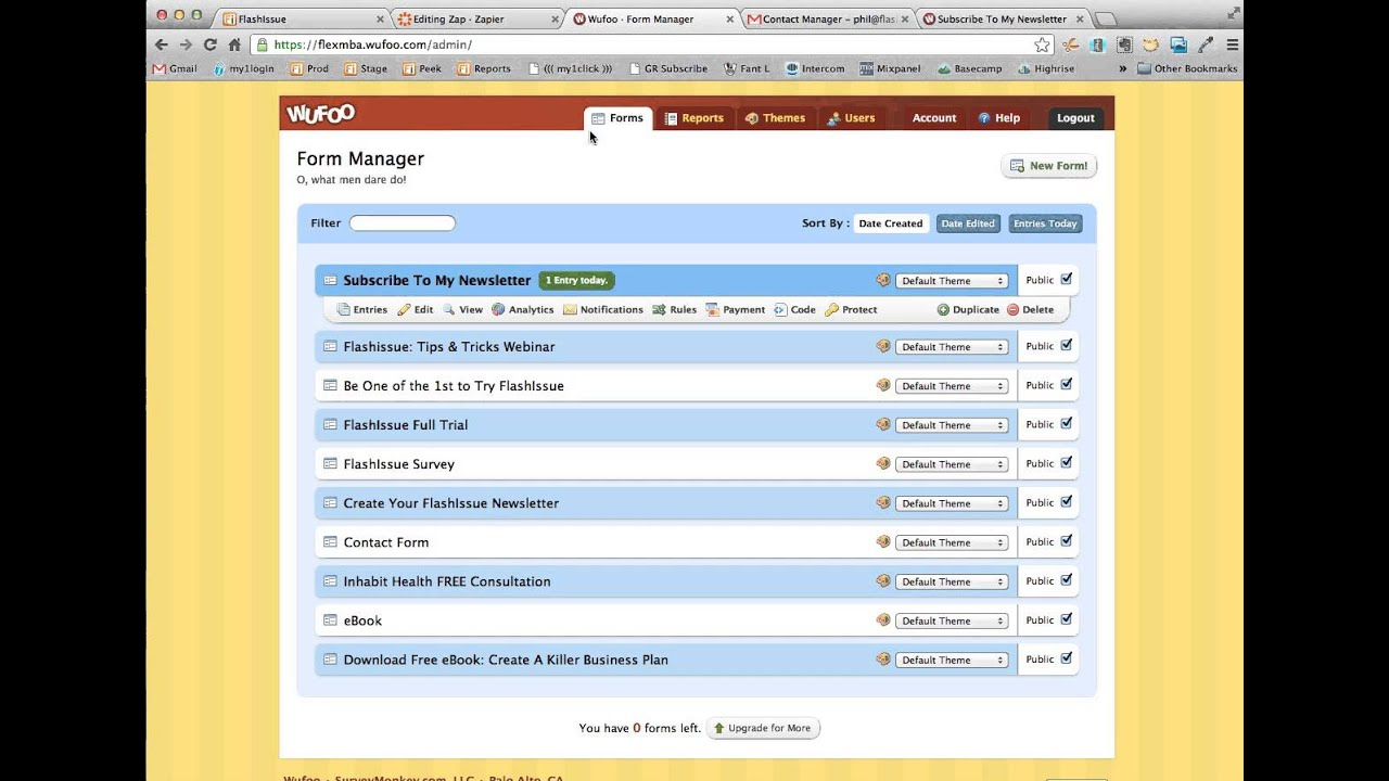 Gmail default theme - How To Create An Email Sign Up List For Gmail Contacts