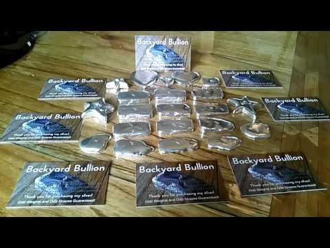 Backyard Bullion - Silver Bars for sale!