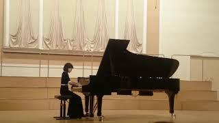 """А.И. Хачатурян """"Токката"""",  исполняет  Лилит Мартиросян (6 класс)"""