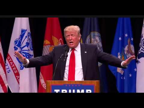 Donald Trump San Diego Rally FULL Speech. Trump Tells California 'There Is No Drought'