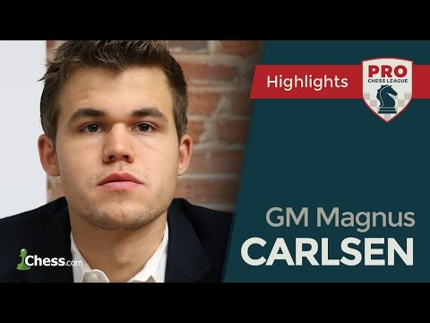 PRO Chess League Broadcasts: Magnus Carlsen Thrills And Chills
