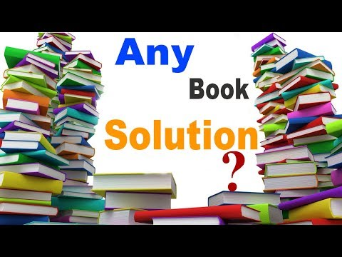 How to Download Any Paid Books Solution free