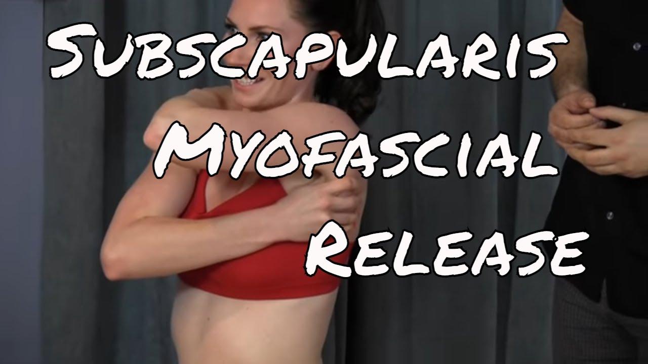 Subscapularis Myofascial Release Technique | Besten bettsofa design