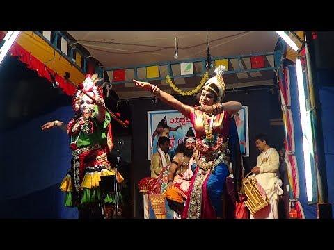 Yakshagana -- Vishwamithra Menake -  8 - Mandamaarutha...Perla