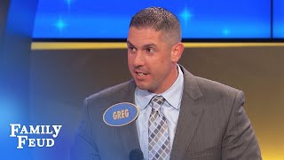 You talking about my MOMMA? | Family Feud
