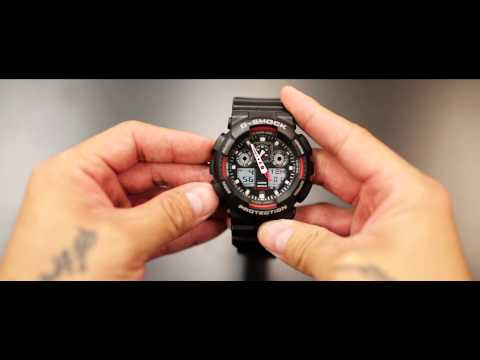 HOW TO set your time on a G-Shock watch
