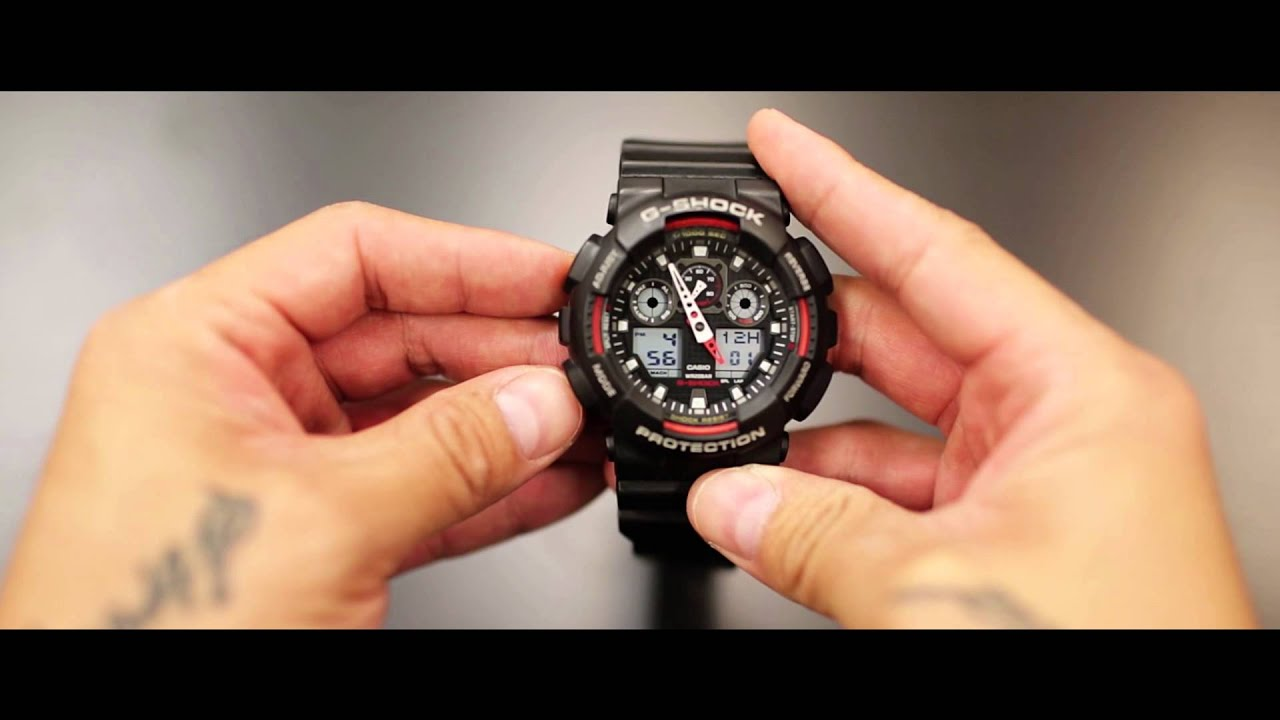 how to set your time on a g shock watch youtube rh youtube com G-Shock Gdx6900fb-1 6900 Manual G-Shock GA 110