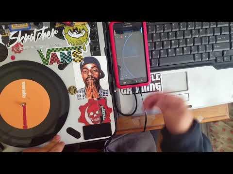 Portablist - DVS Tutorial (Android/Mixfaderapp) : DJ Minihands - Skratcher