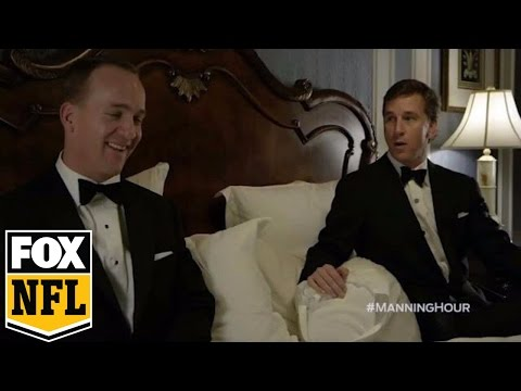 Peyton Manning makes hilarious guest appearance on 'The Manning Hour' | FOX NFL KICKOFF #MANNINGHOUR