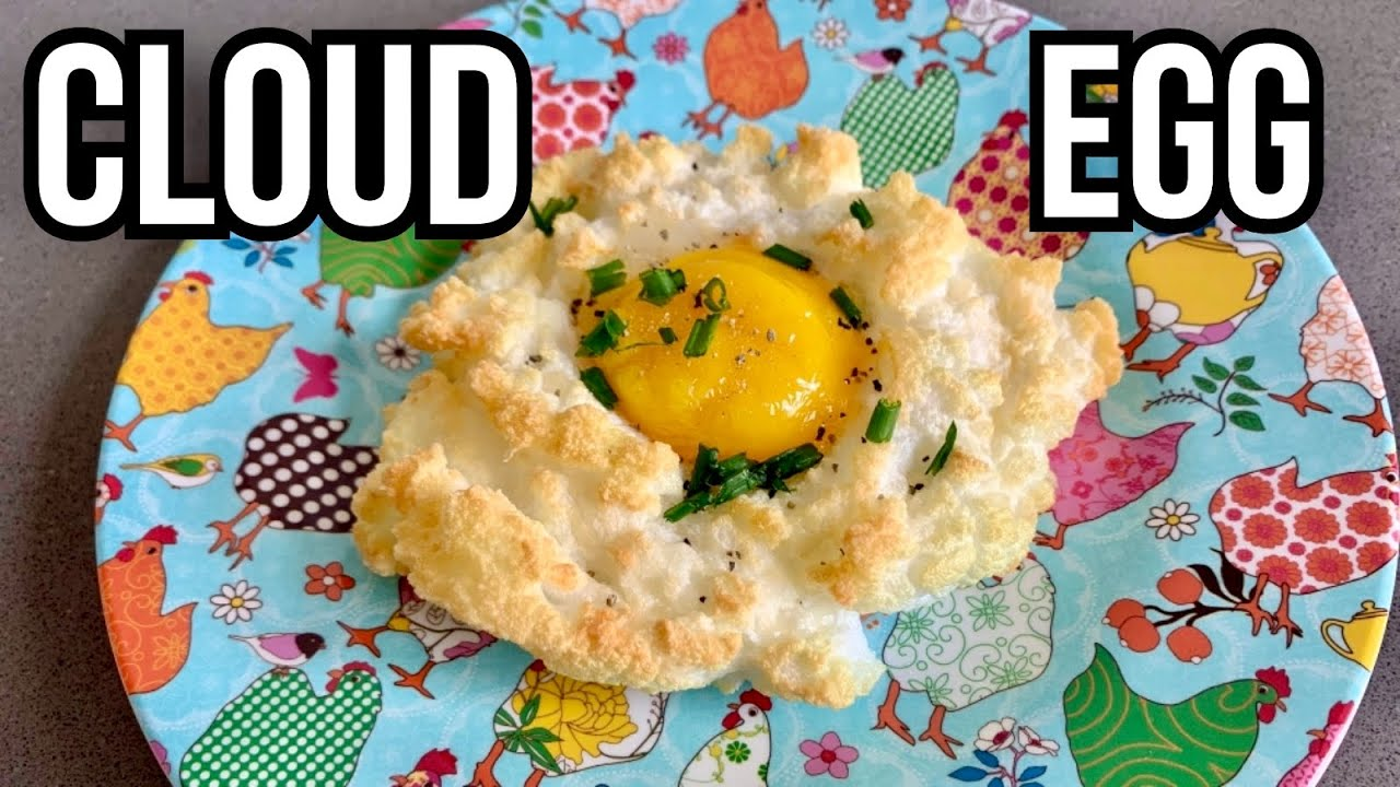 🇬🇧 Cloud egg: easy, yummy and keto