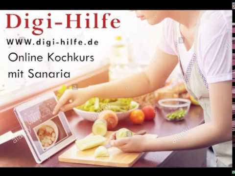 Digi-Hilfe: live cooking!