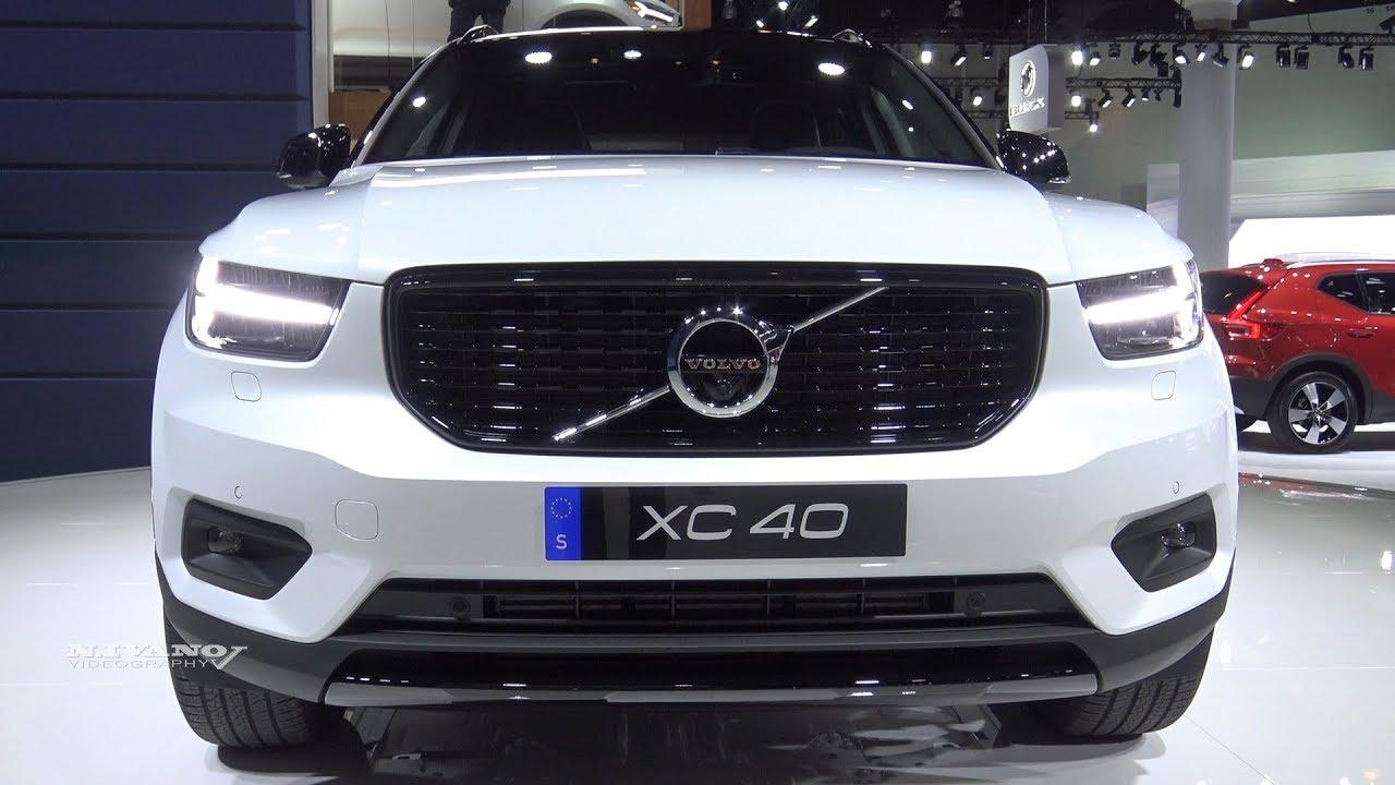 2019 Volvo Xc40 T5 R Design Exterior And Interior Walkaround La Auto Show 2017 Youtube