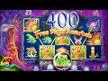 400 GAMES TRIGGER!!! Return to Crystal Forest BONUS!!! 1c Wms Slot in Morongo Casino - Uncut Video