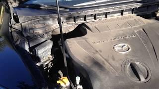 Mazda CX-7 Звук двигателя после прогрева