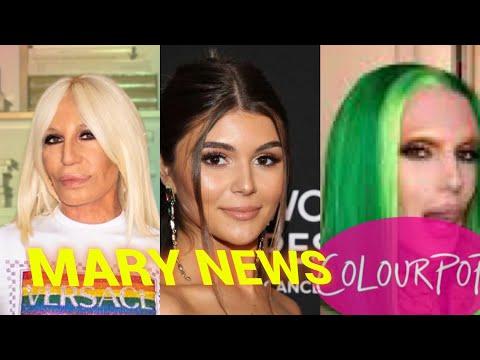 DONATELLA VERSACE, OLIVIA JADE, JEFFREE STAR Y COLOURPOP / MARY NEWS thumbnail