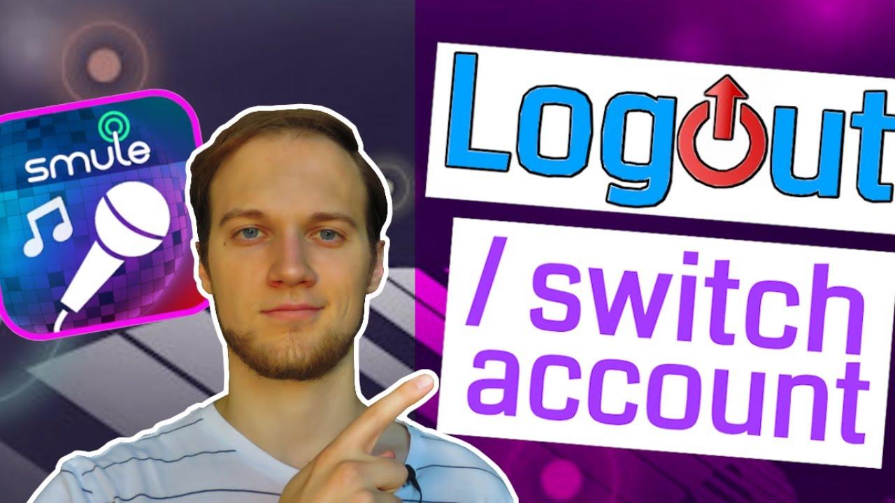 Smule: LOGOUT / switch account on Sing! Karaoke | 2 Tricks
