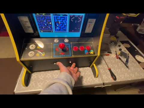 HSN Arcade1up Party Cade converted to a 60 in 1 Jama board. from Johnnyg Lexus