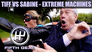 Tiff VS Sabine Schmitz in Extreme Machines | Fifth Gear Classic