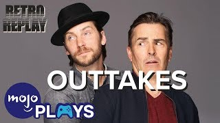 Nolan North & Troy Baker OUTTAKES! Retro Replay Reacts to WM