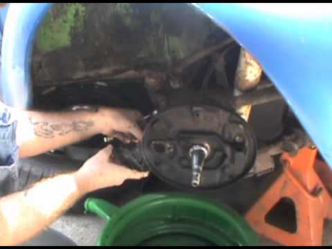 VW Beetle Front Brakes-part 2mov - YouTube