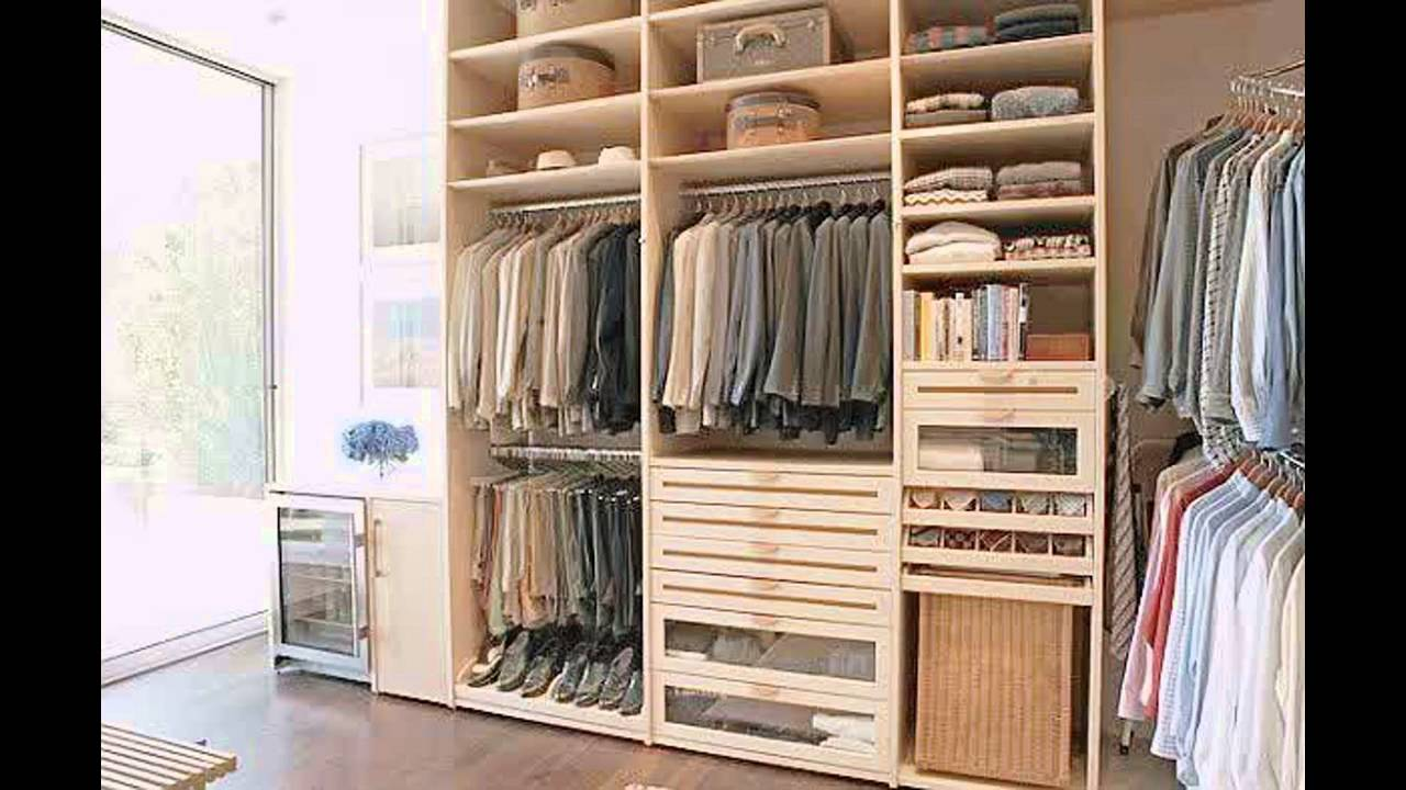 Master bedroom closet design ideas - YouTube