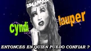 CYNDI LAUPER -Money change everything- subtitulado en español.wmv