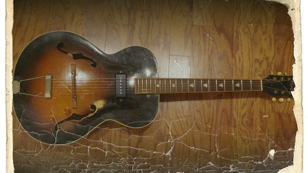 medium resolution of vintage 1950s 1960s kay archtop pickup install