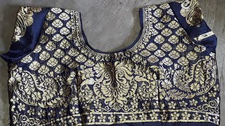 How to make designer blouse cutting and stitching step by step