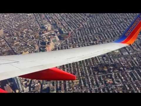 Southwest Airlines Flight # WN 3018 - NYC LaGuardia Landing (From Atlanta)
