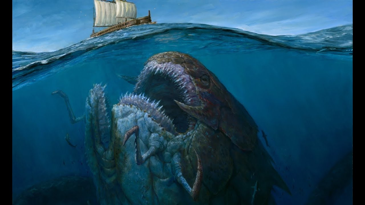Die 4 Größten See Monster! - YouTube