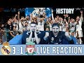 BARCA & MADRID FAN REACTS TO: MADRID 3-1 WIN OVER LIVERPOOL   REACTION