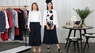The Styling Studio - How to Wear The Cropped Wide Leg Pant