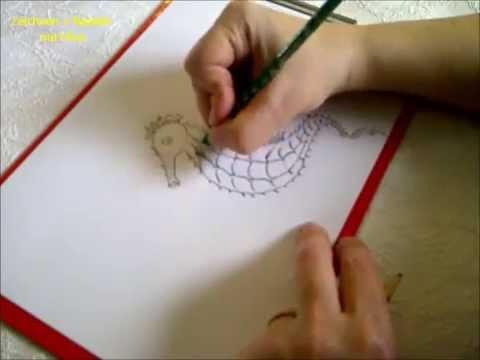 Zeichnen Lernen Für Anfänger Seepferdchen Zeichnen Youtube