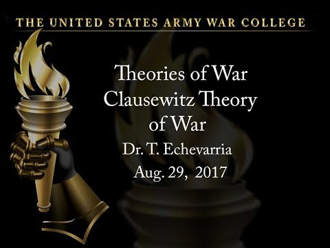 Clausewitz Theory of War, Background and Trinity