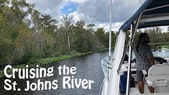 Starting our Cruise up the St. Johns River | Cruising m/v Y-Not