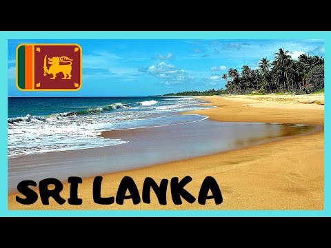 SRI LANKA, World's Best Tropical Beach (UNAWATUNA BEACH in GALLE)