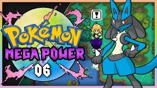 Pokemon Mega Power (Rom Hack )Part 6 - Rival Battle! Gameplay Walkthrough