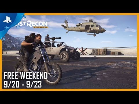 Tom Clancy's Ghost Recon Wildlands: Free Weekend 9.20.18   PS4