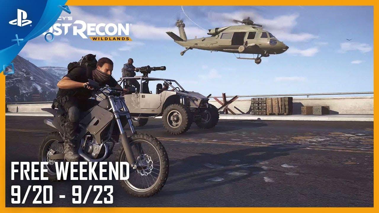 Tom Clancy's Ghost Recon Wildlands: Free Weekend 9.20.18 | PS4