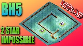 New Bh5 Base 2017 Coc Best Builder Hall 5 Base Anti 2 Star Anti 3 Star Anti Giant Clash Of Clans