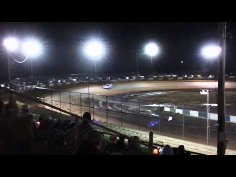 Ronnie Johnson Qualifying at Green Valley Speedway 2012 Bama Bash